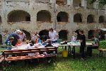 Na gradu Grad so potekale ustvarjalne delavnice Mojca Podletnik